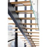 뜨 목제 똑바른 계단 또는 유리 방책