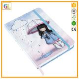 Serviço de impressão duro do caderno da tampa (OEM-GL012)