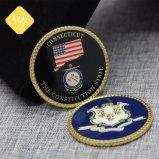Les fabricants de chariot de souvenirs de la Chine Ancienne valeur Chanllenge Trump Coin