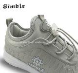 Do esporte de couro das sapatilhas da forma sapatas coloridas Running ocasionais respiráveis 28-36