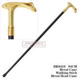 Bastone da passeggio 94cm HK8410 della canna del metallo del metallo capo della spada