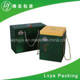 Rectángulo de madera de empaquetado modificado para requisitos particulares para el rectángulo de regalo del almacenaje del vino