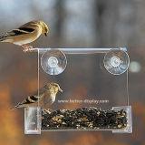 明確な有機性ガラスのプラスチック自動鳥の送り装置