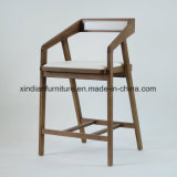 Cadeira de jantar nórdica de madeira da melhor cera branca da qualidade