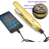 Plancha Mini LED de carga inalámbrica USB portátil pelo hierro