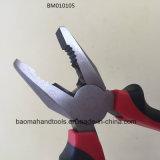 """8""""Сочетание щипцы с черной и красной полосой на рукоятку"""