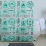Cortina de ducha personalizada de colores para los productos de baño