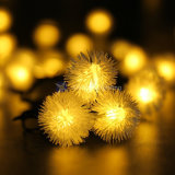10m 100LED Multi Color Snowball Flakes LED String Lights Christmas Holiday Wedding Party Decoration Lighting 110V 220V