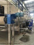 Tunnel de refroidissement pour les jus de remplissage à chaud