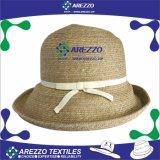 女性のバケツのペーパー麦わら帽子(AZ012A)
