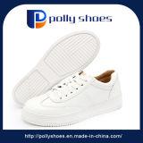 2018の新しいデザイン方法歩きやすい偶然の白いキャンバスのスポーツの靴