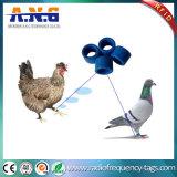 etiqueta de 125kHz Hitag S256 RFID como anillo del pie animal