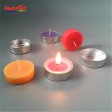 Mehrfarbige 1% natürliches Aroma Tealight Kerze für Bad