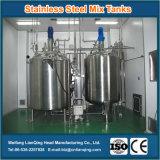 Cumplir los requisitos de calidad de la categoría alimenticia del tanque de mezcla del acero inoxidable