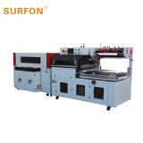 Automatische PE Machine van de Verpakking van de Bevloering van de Film Houten sf-400la+Sf-4525