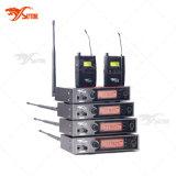 Micrófono del sistema audio frecuencia ultraelevada en monitor del oído