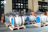 鋳造物のステンレス鋼の高いプラットホームのパッドは弁浮遊球フランジを付けたようになった