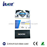 Самые лучшие продавая продукты брошюра LCD 2.4 дюймов видео- для дела