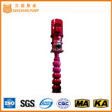 Pompa di innesco verticale di pressione di acqua