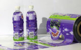 음료와 물병 수축 레이블 인쇄