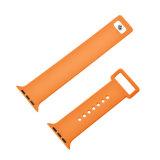 Faixa de borracha Iwatch do silicone da alta qualidade para a cinta de relógio de Apple