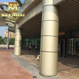 Revestimento decorativo do borne do edifício de Constructual do metal