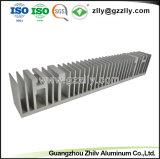 Aluminiumstrangpresßling-Kühlkörper für LED-Straßenlaternemit ISO9001