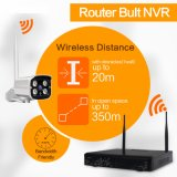 Kit esterno del sistema 8CH NVR della macchina fotografica del IP di sorveglianza senza fili di WiFi