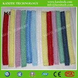 La tela sin tejer desechable elástico doble polvo tapa de la mafia médica Kxt-Nwc12