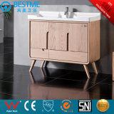 Новые Sanitaryware цельной древесины туалетный столик в ванной комнате из дуба, Кабинета Министров в левом противосолнечном козырьке-F8075