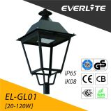 Lámpara del jardín de Everlite 30W LED con IP66 Ik08