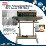 Sigillatore continuo automatico della fascia con il basamento per i prodotti chimici (FR-900C)