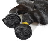 Weave 100% человеческих волос волос 10-34inch Non-Remy пачек объемной волны