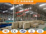 Guichet en aluminium d'Anti-Voleur populaire fait à Foshan