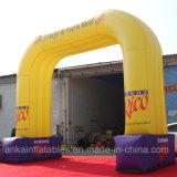 Facendo pubblicità all'arco gonfiabile promozionale con la stampa di marchio, Archway/arrivo/entrata gonfiabili di inizio per la cerimonia nuziale di evento