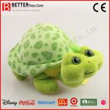 Stuk speelgoed van de Schildpad van de Pluche van de bevordering het Zachte Gevulde Dierlijke voor Jonge geitjes