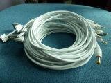 Kopf des Energien-Kabel-5pins Magsafe2 und 5.5X2.5mm männlicher Verbinder