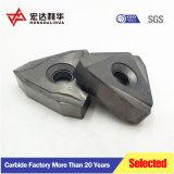 Inserciones de carburo de tungsteno CNC MÁQUINA CNC la herramienta de inserción