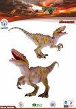 Kundenspezifischer Plastikdinosaurier-Modellc$spielzeug-allosaurus