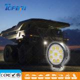 Runder EMC 27W Epistar LED, das Arbeits-Licht für ATV läuft