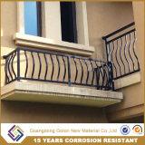 Дом используется декоративный оцинкованной стали изгиба трубы вилла балкон поручни
