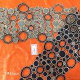 원형 리본 꿰매는 기술, 치마 레이스 손질 Hme874가 까만 13cm에 의하여 밖으로 속을 비게 한다