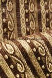Tessuto della banda del Chenille di stile del Brown per il coperchio del sofà (FTH31404)