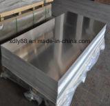 Plaque en aluminium pour l'espace