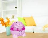 Tipo humidificador dos desenhos animados do porco do uso do quarto do bebê para miúdos