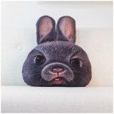 3D 동물성 견면 벨벳 연약한 베개