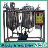 Fabricado na China Máquina de refinação de óleo de palmiste e escala pequena refinaria de óleo de girassol em bruto