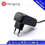 Universalinput 12V 1.5A 18W Wechselstrom-Versorgung-Adapter