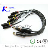 O conetor M12 do atuador de sensor Waterproof acessórios do cabo do plugue do Pin do divisor 4 de Y