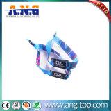 Wristband tejido raya de la tela NFC